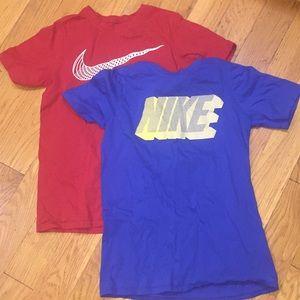 Bundle of two Nike T-shirt's